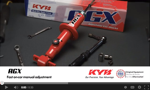 Stuts and Cartridges KYB 734058 AGX Manually Adjustable Shocks